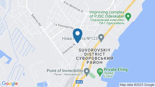 LOGOVO hostel Map