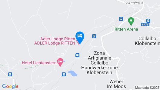 Adler Lodge Ritten Map