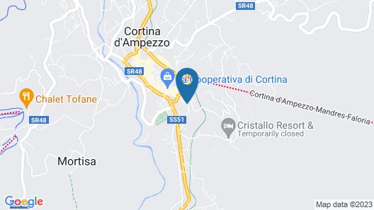 Grand Hotel Savoia Cortina d'Ampezzo, A Radisson Collection Hotel Map
