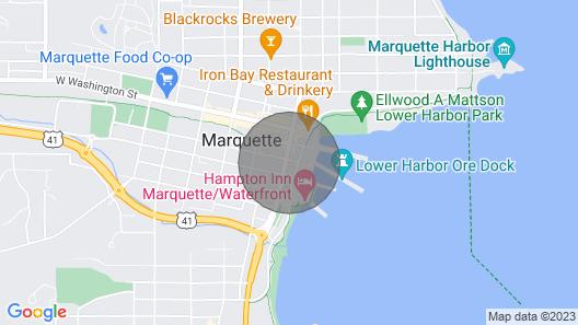 Downtown Luxury Condo w/ Lower Harbor Views - 2200 SF Sleeps 8 Comfortably Map