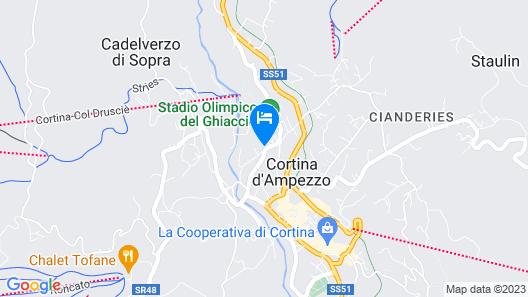 Hotel Capannina Map