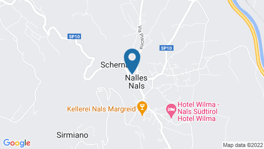 Apparthotel Gartenresidence Nalserhof Map