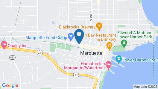 Ramada by Wyndham Marquette Map