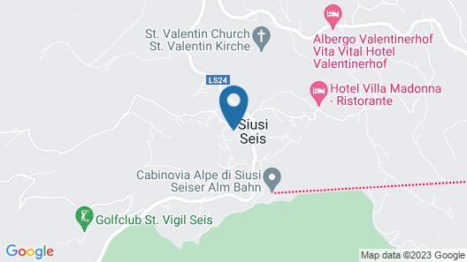 Artnatur Dolomites Map