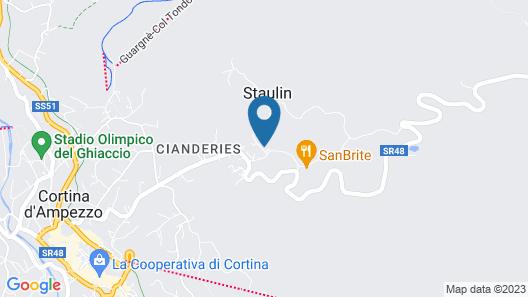 Romatic Suite Faloria - Sunny, Wi-fi, Balcony, Parking Space, bus 130mt Away Map