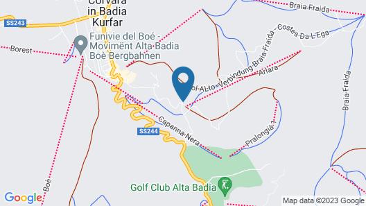 Sporthotel Panorama Map