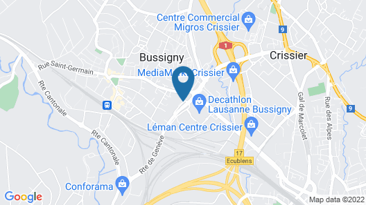 ibis budget Lausanne Bussigny Map
