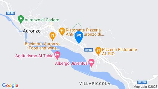 Albergo Erika Map