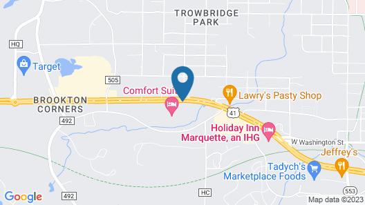 Days Inn by Wyndham Marquette Map