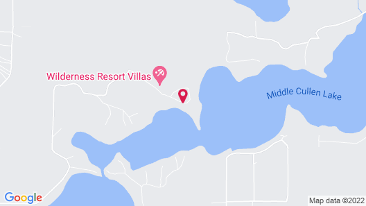 Wilderness Resort Villas Map
