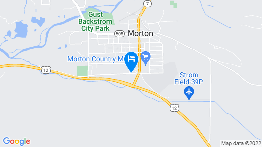 Seasons Motel Map