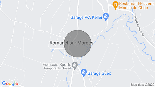 Bed and Breakfast La Sereine, Idyllic Location - Swimming Pool. Region Morges Map