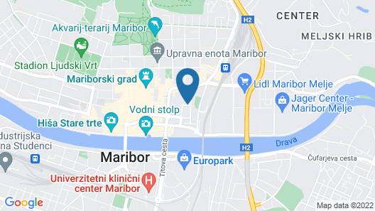 Hotel Piramida Map