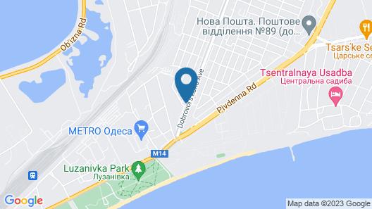 Vilari Guest House Map