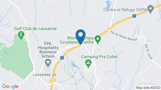 Auberge du Chalet-à-Gobet Map