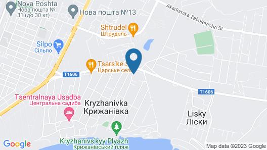 Private Odessa Apartment Map