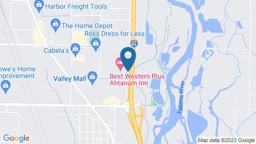 Best Western Plus Ahtanum Inn Map