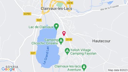 Odésia Vacances Camping le Grand Lac Map