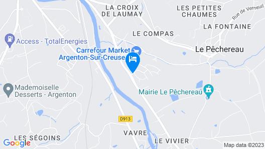 L'Escapade Map