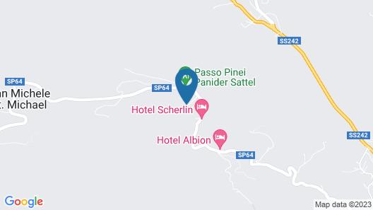 Hotel Pinei Nature & Spirit Map