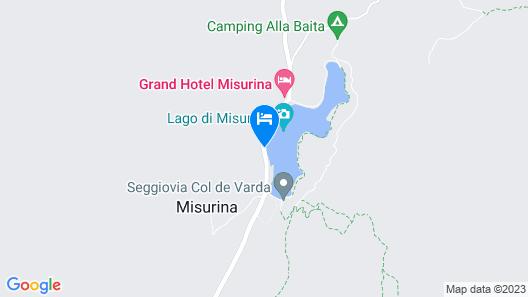 Hotel Sorapiss Map