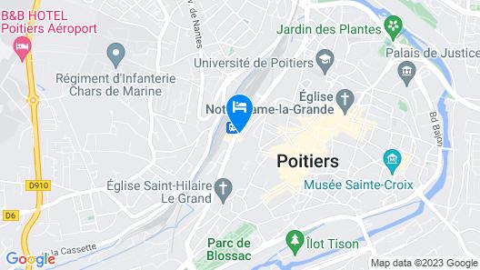 Hélios Hôtel Map