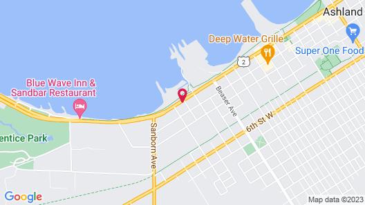 Super 8 by Wyndham Ashland Map