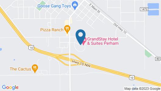 GrandStay Hotel & Suites Perham Map