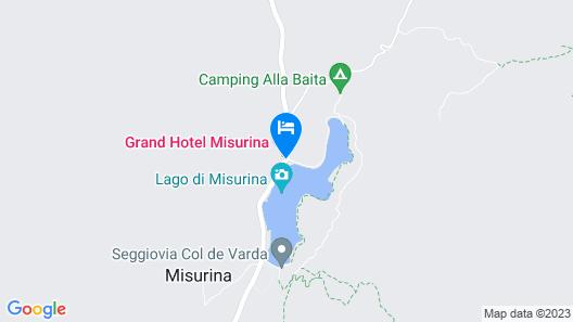 Grand Hotel Misurina Map