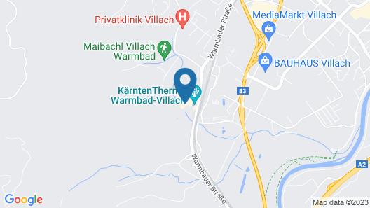 Thermenhotel Karawankenhof Map