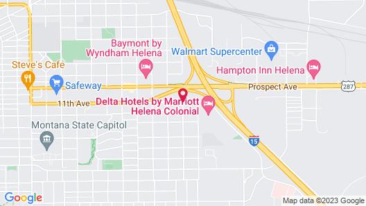 Super 8 by Wyndham Helena Map