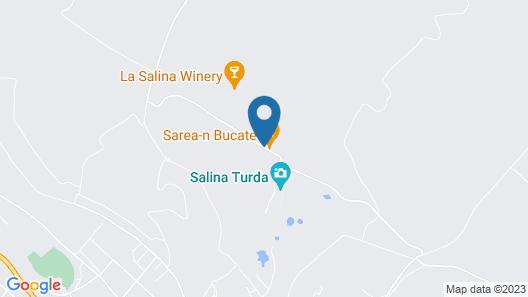 Pensiunea Sarea-n Bucate Map