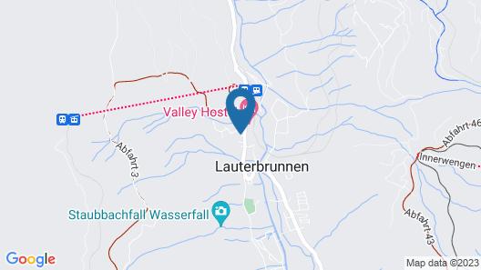 Hotel Schützen Map