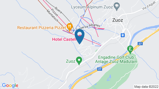 Hotel Castell Map