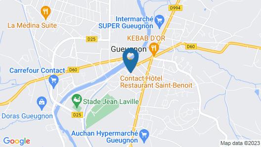 Hôtel Restaurant Saint-Benoît Map