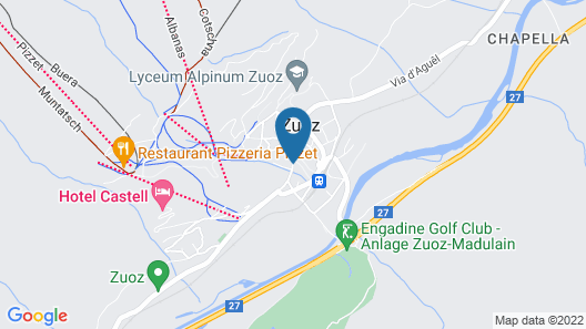 Hotel Engiadina Map