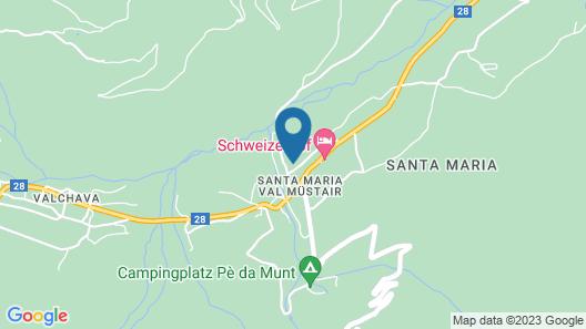 Chasa Randulina Map