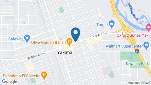 Hilton Garden Inn Yakima Downtown Map