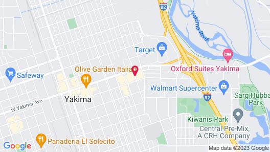 Holiday Inn Yakima Map