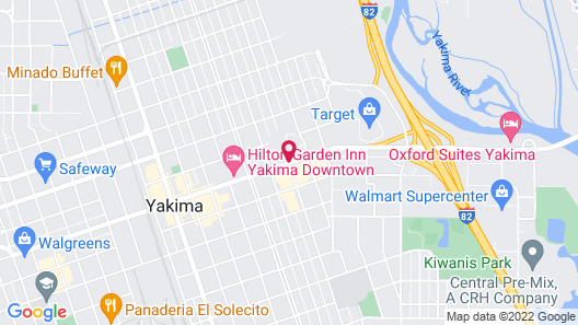 Red Lion Hotel Yakima Center Map