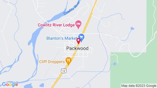 Packwood Inn Map