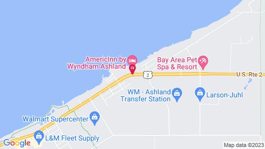 AmericInn by Wyndham Ashland Map