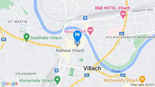 Hotel Palais26 Map
