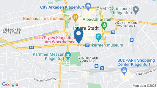 ibis Styles Klagenfurt am Woerthersee Map