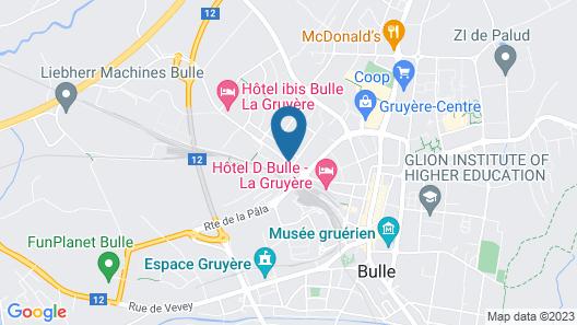 ibis Bulle La Gruyere Map