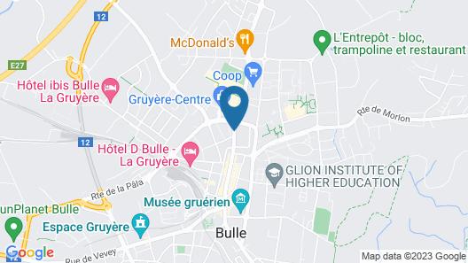 Best Western Hotel Rallye Map
