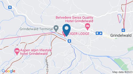 Eiger Lodge Map