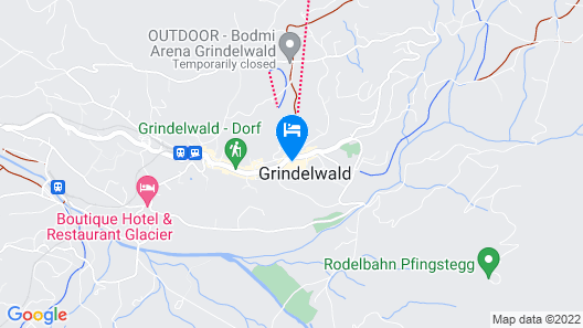 Sunstar Hotel Grindelwald Map