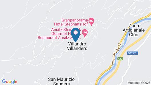 Granpanorama Hotel StephansHof Map