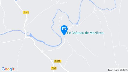 Château de Mazières Map